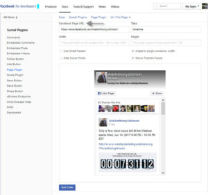 AskAnthonyJohnson Facbook Page Plugin